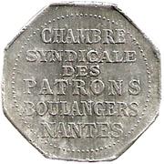 ¼ Décime - Chambre Syndicale des Patrons Boulangers (Nantes) – obverse