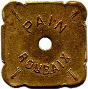 1 Pain - Coopérative ouvrière La Paix (Roubaix) – reverse
