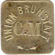 Token - C.M. Union Brunstatt – obverse