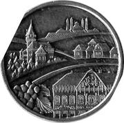 Kremnica Mint Token 2012 - Malokarpatsko, Myjavsko, Záhorie – obverse