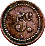 5 Centimes - Coopérative La Douanière (Marseille) – reverse