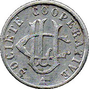 5 Centimes - Societe Cooperative (UCL) – obverse