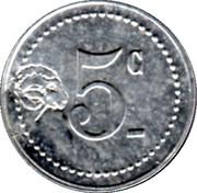 5 Centimes - Comité Municipal d'Alimentation (Saint-mandé) – reverse
