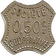 50 Centimes - Socété coopérative (Amplepuis) – obverse