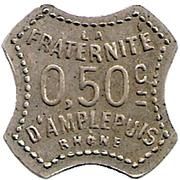50 Centimes - Socété coopérative (Amplepuis) – reverse