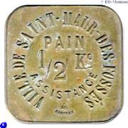 ½ Kilo Pain Assistance (Ville de Saint-Maur-des-fossés) – obverse