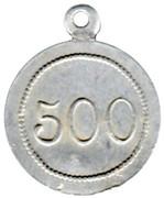 500 Grams - Boulangerie coopérative des cheminots (Thouars) – reverse