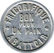 1 Pain - Abattoir Frigorifique (Paris) – obverse