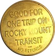 1 Trip - Rocky Mount Transit (Rocky Mount, NC) – reverse