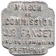 5 Francs - J.B Fanget (Saint Etienne) – obverse
