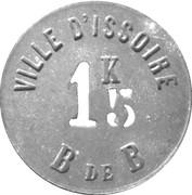 1.5 Kilo - Bureau de Bienfaisance (Ville d'Issoire) – obverse