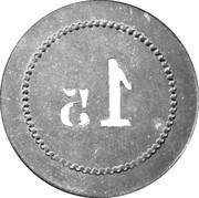 1.5 Kilo - Bureau de Bienfaisance (Ville d'Issoire) – reverse