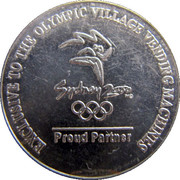 Token - Coca Cola (Sydney Summer Olympic Games) – obverse