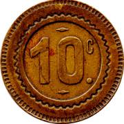 10 Centimes (68.) – obverse