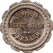20 Centimes - Comptoir Franco Belgie Bernard – obverse