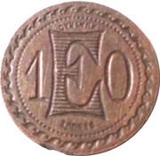 10 Centimes (Depose) – obverse