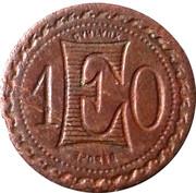 10 Centimes (Depose) – reverse