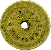 20 Centimes - A Consommer (Lizard) – obverse