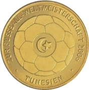 Token - Germany 2006 World Cup (Tunisia) – obverse