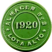 ½ Kilo de Carne - Compañía de Lota y Coronel (Almacén Nº 2) – reverse