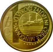 Mint Set Token 2003 - 10 Years Czech Mint – obverse