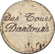 10 Centimes - Dar Tours – obverse