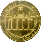 Mint Set Token 2017 - Karlovy Vary Region – reverse