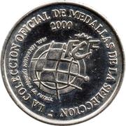 Token - RFEF Medallas de la Seleccion (Fran) – reverse