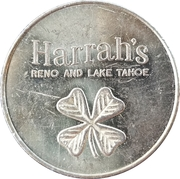 Token - Harrah's (Reno and Lake Tahoe) – obverse