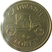 Carwash Token - Union 76 – reverse