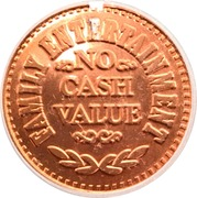 Token - Casa Bonita (Copper plated Steel) – reverse