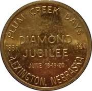 50 Cents - Plum Creek Days (Diamond Jubilee) – obverse