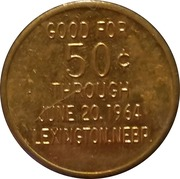 50 Cents - Plum Creek Days (Diamond Jubilee) – reverse