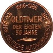 Token - 100 Jahre Deutsche Automobilgeschichte (DKW 1930) – reverse