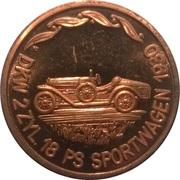 Token - 100 Jahre Deutsche Automobilgeschichte (DKW 1930) – obverse