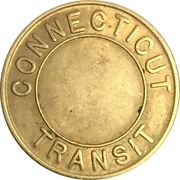 1 Zone Bus Fare - Connecticut Transit (Hartford, CT) – obverse