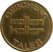 5 Taler - Wollen Keller – obverse