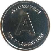 Amusement Token - A – obverse