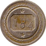 20 Centimes (184) – reverse