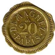 20 Centimes - Demagnez (Paris) – obverse