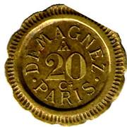 20 Centimes - Demagnez (Paris) – reverse
