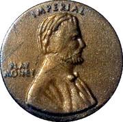 1 Cent - Play Money – obverse