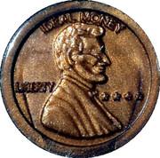 1 Cent - Ideal Money – obverse
