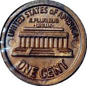 1 Cent - Ideal Money – reverse