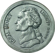 5 Cents - Ideal Money – obverse