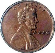 1 Cent - C D Money – obverse
