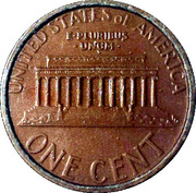1 Cent - C D Money – reverse
