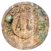 25 Centimes - A Consommer (A.U) – obverse