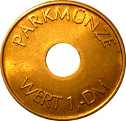 Parking Token - Stadtwerke Hameln – obverse