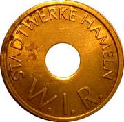 Parking Token - Stadtwerke Hameln – reverse